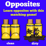 Opposites Game | Printable