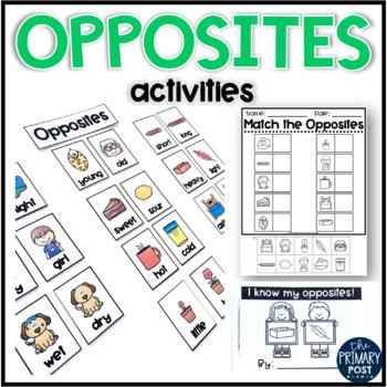 Opposites Activities