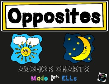 Opposites Anchor Charts