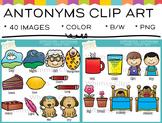 Antonyms Clip Art