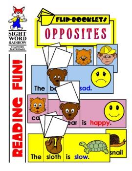 Opposites (Antonyms) Flip Booklets