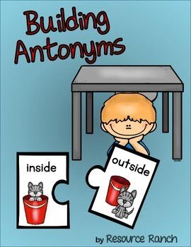 Antonyms Puzzles Center