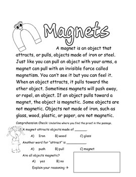 Magnets: Opposites Attract- A  Magnet Science Unit