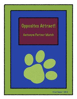 Opposites Attract: Antonym Match