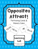 Opposites Attract: Partnering Cards & Memory Game