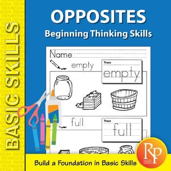 Opposites: Beginning Thinking Skills