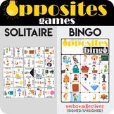 Opposites Bingo 2in1
