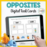 Speech Therapy Opposites Boom Cards | Teletherapy and Dist