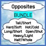 BUNDLE Opposites Hot/Cold, Soft/Hard, Tall/Short, Open/Shu