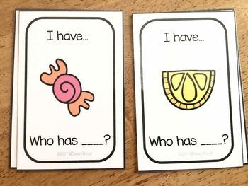 Language Vocabulary Opposites Card Game