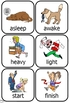 Opposites Cards preschool fun set