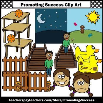 Opposites Clip Art, Antonyms Clipart Language Arts ESL Commercial Use SPS