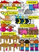 ANTONYMS (Opposites) Clip Art Graphics-46 WORDS-Commercial