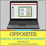 No Print Opposites Digital Interactive Notebook