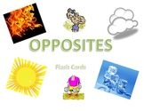 Opposites - Flash Cards
