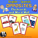 Opposites Trading Cards and Word Wall Posters