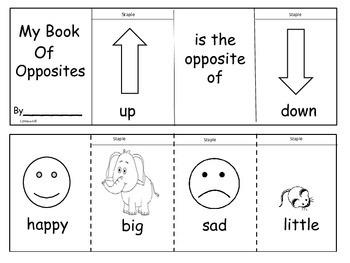 Opposites Flip Flap Book