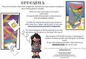 Opposites (Flip chute cards)