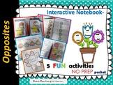 Opposites -Interactive Notebook