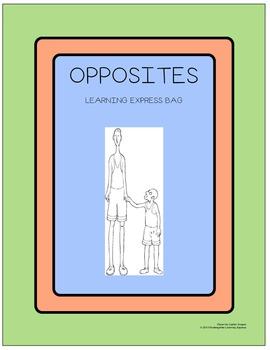 Opposites Learning Express Bag