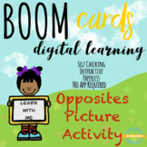 Opposites Learning with Pictures - Boom Cards