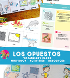 Opposites {Los Opuestos Spanish Bundle}