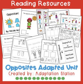 Opposites Mini Unit