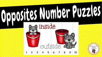 Number Puzzles: Opposites Number Puzzles