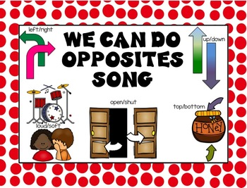 We Can Do Opposites Song by Dr. Jean
