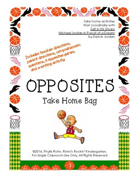 Opposites Take Home Bag-Salt in His Shoes