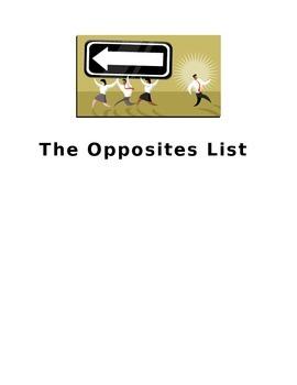 Opposites - The basic