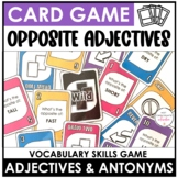 Opposites: Vocabulary UNO Inspired Card Game - Antonyms