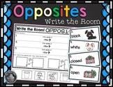 Opposites Write the Room