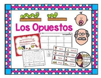 Opposites in Spanish