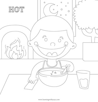 Opposites song and coloring book!