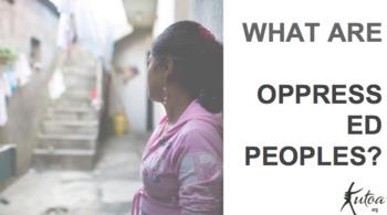 Oppressed Peoples - September