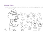 Oppsie Daisy: A Phonological Awareness Rhyming Activity