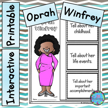 Women's History Month - Oprah Winfrey Writing