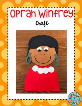 Oprah Winfrey Craft (Women's History Month)