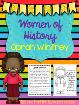Oprah Winfrey - Find the Evidence and Bio
