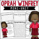 Oprah Winfrey Biography Pack (Women's History)