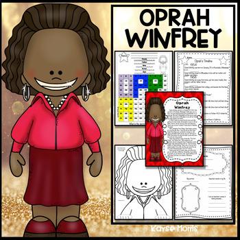 Oprah Winfrey Women's History Month