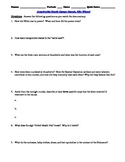 Oprah and Elie Wiesel Interview Worksheet and 15-Question Multiple Choice Quiz