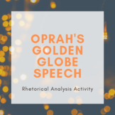 Oprah's Golden Globe Speech: Annotation and Rhetorical Ana