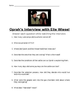 Oprah's Interview with Elie Wiesel