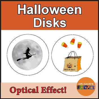 Halloween Science: Optical Spinning Disk
