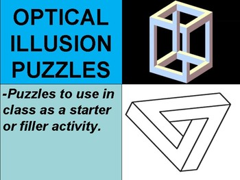 Optical Illusion Puzzles Presentation
