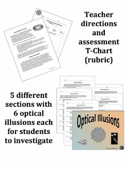 Optical Illusions Activity for the Upper Grades