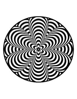 Optical Illusions Worksheets Op Art Worksheets Optical ...