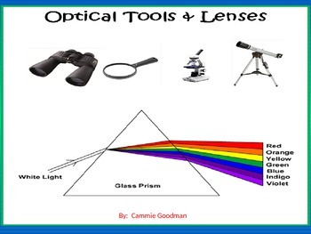 Optical Tools and Lenses BUNDLE - 4th Science
